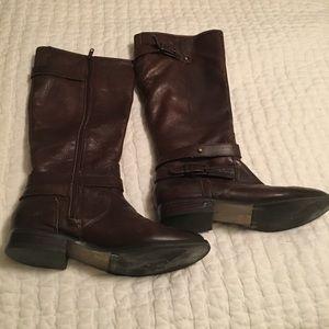 Arturo Chiang brown riding boots